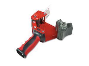 3M ST181 Foam Handle Pistol Grip Packaging Tape Dispenser  3   core  Metal  Red