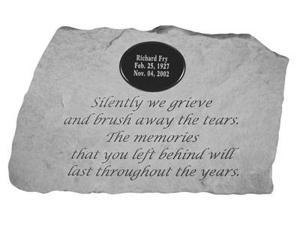 Kay Berry 58820 Silently We Grieve...with Marble insert