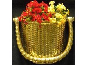 Mayer Mill Brass - BSK-1 - Flower Basket Door Knocker With Insert