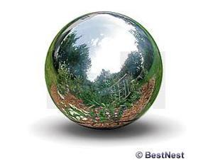 Rome Industries 704-S 4 Inch Stainless Steel Gazing Globe - Silver