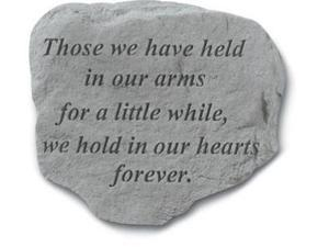 Kay Berry- Inc. 90920 Those We Have Held In Our Arms - Memorial - 11 Inches x 10 Inches