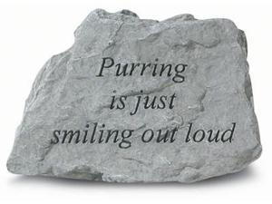 Kay Berry- Inc. 74520 Purring Is Just Smiling Out Loud - Garden Accent - 4.5 Inches x 3.75 Inches