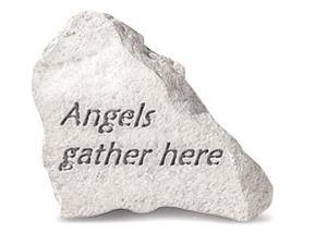 Kay Berry 74640 Angels Gather Here Stone
