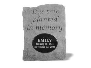 Kay Berry 52121 This tree planted...Urn for local engraving