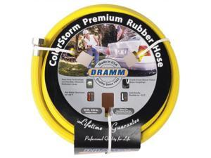 Dramm Corporation .63in. X 50ft. Yellow ColorStorm Premium Rubber Hose  10-17003