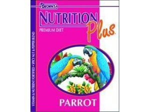 Brown S F. M. Sons Parrot Nutrition Plus Food 18 Pounds - 44352