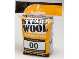 Red Devil 8 Pack NO.00 Steel Wool  0322
