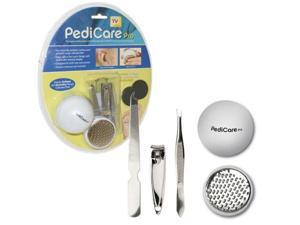Pedicare Pro Foot File System W/ Buffing Pads & Bonus