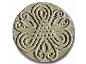 Garden Molds X-FLUER8011 Fleur de Lis Stepping Stone Mold- Pack of 2