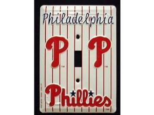 Philadelphia Phillies Light Switch Covers (single) Plates LS10037
