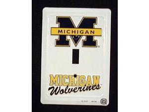 Michigan Wolverines Light Switch Covers (single) Plates LS10127