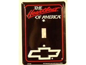 Chevy Heartbeat Light Switch Covers (single) Plates LS10158