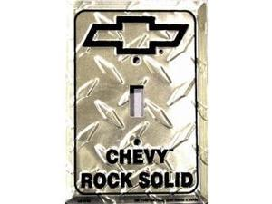 Chevy Rock Solid Diamond Light Switch Covers (single) Plates LS10159