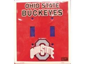 Ohio State Buckeyes Light Switch Covers (double) Plates LS12005