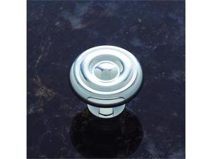 JVJHardware 35026 Classic 1.25 in. Diameter Georgian Mushroom Knob - Polished Chrome