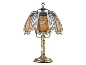 OK LIGHITNG OK-632AB-TI3-SP3 24 in. Tiger and Baby Touch Lamp