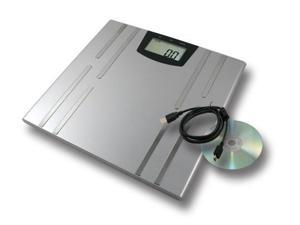 AWS BIOWEIGH-USB 330 x 0.2Lb 2 Aaa Batteries Body Fat Scale