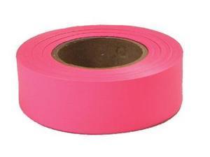 Empire Level 272-77-003 77003 Glo Pink 1 Inchx200' Plastic Flaggig Tape