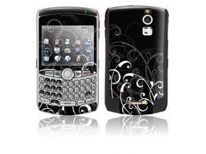 DecalGirl BBC-BWFLEUR BlackBerry Curve Skin - B&W Fleur