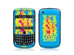 DecalGirl BBC5-KICLOUD BlackBerry Curve 8500 Skin - KICKER Loud