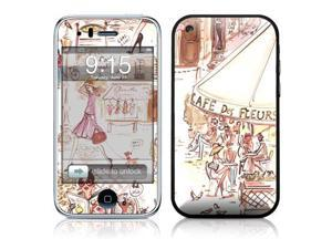 DecalGirl AIP3-PARHPY iPhone 3G Skin - Paris Makes Me Happy