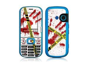 DecalGirl LGR2-CRIME-REV LG Rumor 2 Skin - Crime Scene Revisited