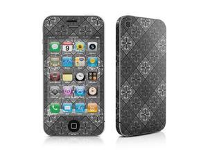 DecalGirl AIP4-TUNGSTEN iPhone 4 Skin - Tungsten