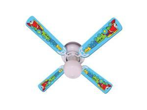 Ceiling Fan Designers 42FAN-IMA-KTCC Kids Train Choo Choo Ceiling Fan 42 In.