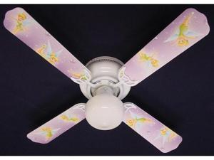Ceiling Fan Designers 42FAN-DIS-TPFP Tinkerbell Fairy Purple Ceiling Fan 42 in.