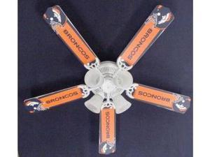 Ceiling Fan Designers 52FAN-NFL-DEN NFL Denver Broncos Football Ceiling Fan 52 In.