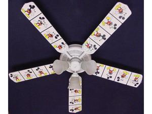 Ceiling Fan Designers 52FAN-DIS-DMMW Disney Mickey Mouse no.2 Ceiling Fan 52 in.