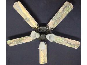 Ceiling Fan Designers 52FAN-KIDS-ATMH Army Tanks Military Helicopter Ceiling Fan 52 in.