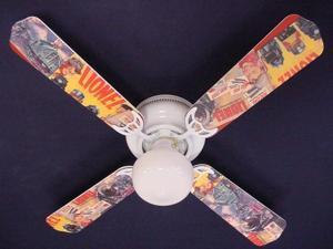 Ceiling Fan Designers 42FAN-KIDS-TTTL Toy Trains Lionel Ceiling Fan 42 in.