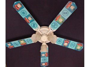 Ceiling Fan Designers 52FAN-KIDS-TTETP Thomas Tank Engine Train Percy Ceiling Fan 52 in.