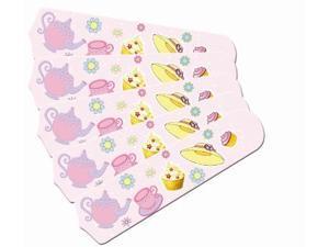 Ceiling Fan Designers 52SET-IMA-GPTT Girls Pink Tea Time Party 52 In. Ceiling Fan Blades Only