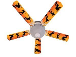 Ceiling Fan Designers 52FAN-IMA-KRS Kids Radical Skateboards Ceiling Fan 52 In.