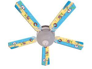 Ceiling Fan Designers 52FAN-IMA-FITS Fun In The Sun Ceiling Fan 52 In.