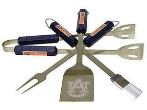 Bsi Products 61045 4 Pc Bbq Set - Auburn Tigers