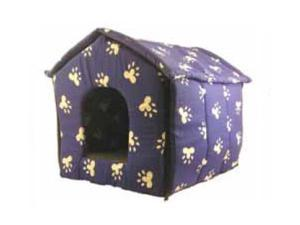 Creative Motion Industries 12519 Blue Footprint Animal House -Foldable