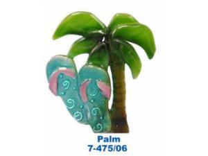 Regal Elite 7-475-06 Artglass Night Light - Palm Tree with Sandle