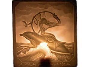 Regal Elite 7-450-05 Porcelain Night Lights - Mermaid