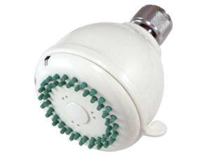 Kingston Brass KX0231 Kingston Brass KX0231 Fixed Shower Head, White