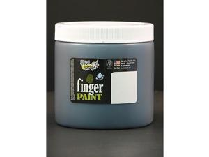 Rock Paint- Handy Art RPC241055 Handy Art Black 16Oz Washable Finger Paint