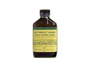 Apitherapy Honey Wild Cherry Syrup - Honey Gardens - 4 oz - Liquid