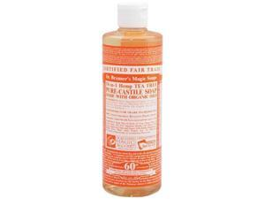 Castile Liquid Soap-Tea Tree - Dr. Bronner's - 16 oz - Liquid