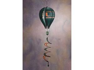 Bsi Products 69031 Hot Air Balloon Spinner - Miami Hurricanes