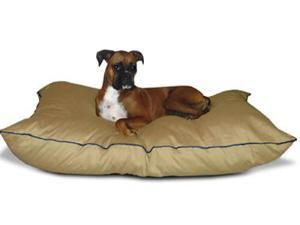 Majestic Pet 788995654650 35x46 Large Super Value Pet Bed- Khaki