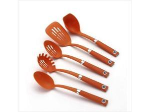 Rachael Ray 56669 5-Piece Tool Set - Orange