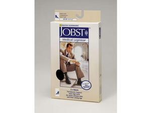 Jobst 115374 Mens 30-40 mmHg Open Toe Knee High Support Socks - Size & Color- Black Large Full Calf
