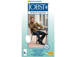 Jobst 113127 for Men 20-30 mmHg Firm Casual Knee High Support Socks - Size & Color- Khaki X-Large